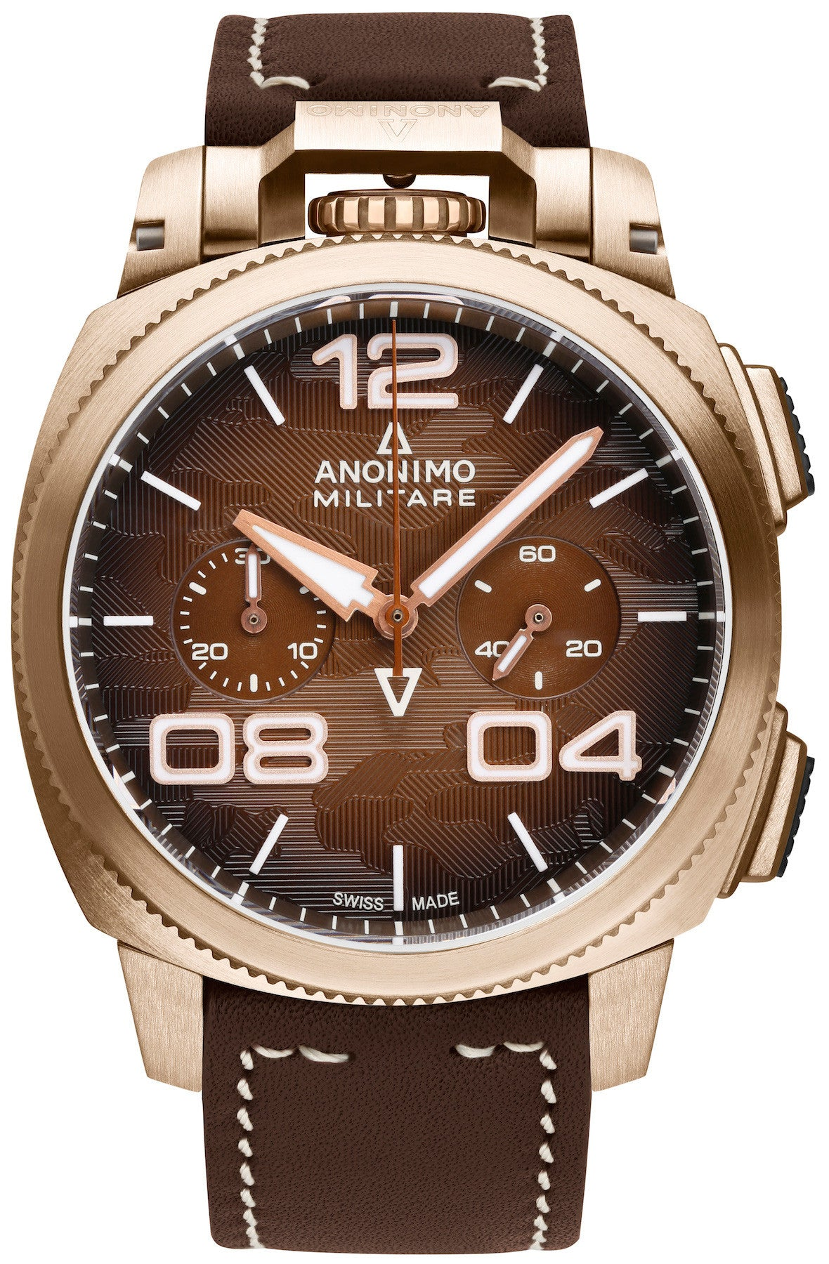 Anonimo Watch Militare Alpina Camouflage Brown Limited Edition