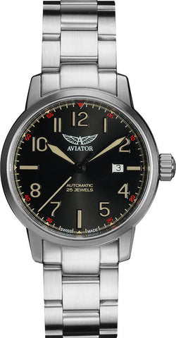 Aviator Watch Vintage Airacobra Auto
