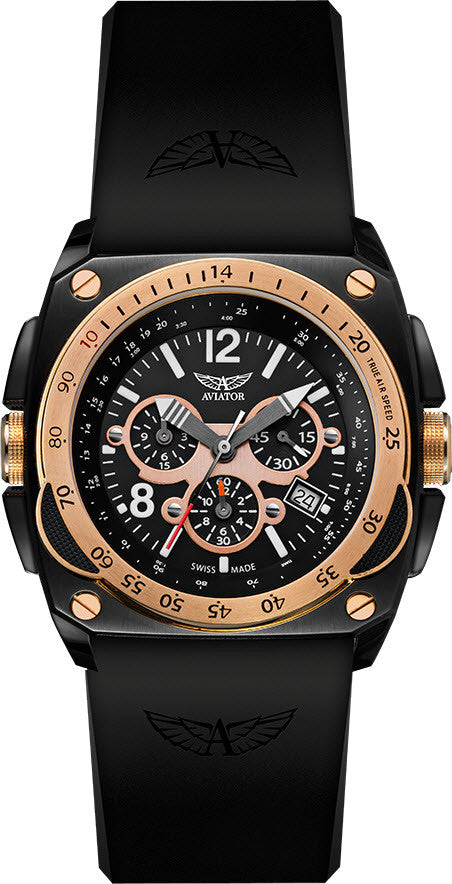 Aviator Watch High Tech MiG-29 Chrono