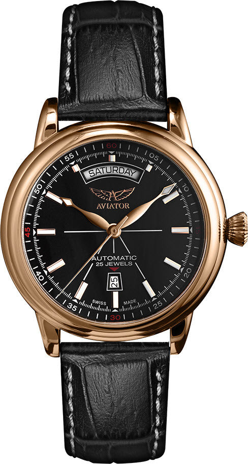 Aviator Watch Douglas Day Date