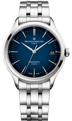 Baume et Mercier Watch Clifton Baumatic Cadran Blue
