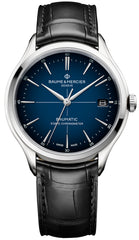 Baume et Mercier Watch Clifton Baumatic Cadran Blue Pre-Order