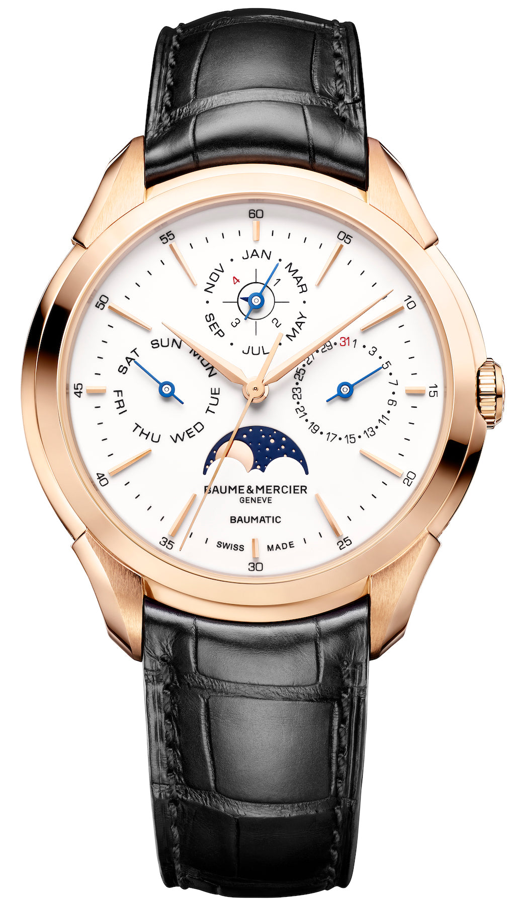 Baume et Mercier Watch Clifton Baumatic Perpetual Calendar Pre-Order