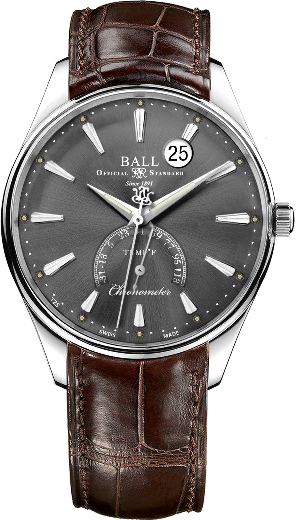 Ball Watch Company Trainmaster Kelvin Fahrenheit