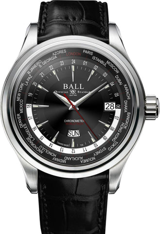 Ball Watch Company Trainmaster Worldtime
