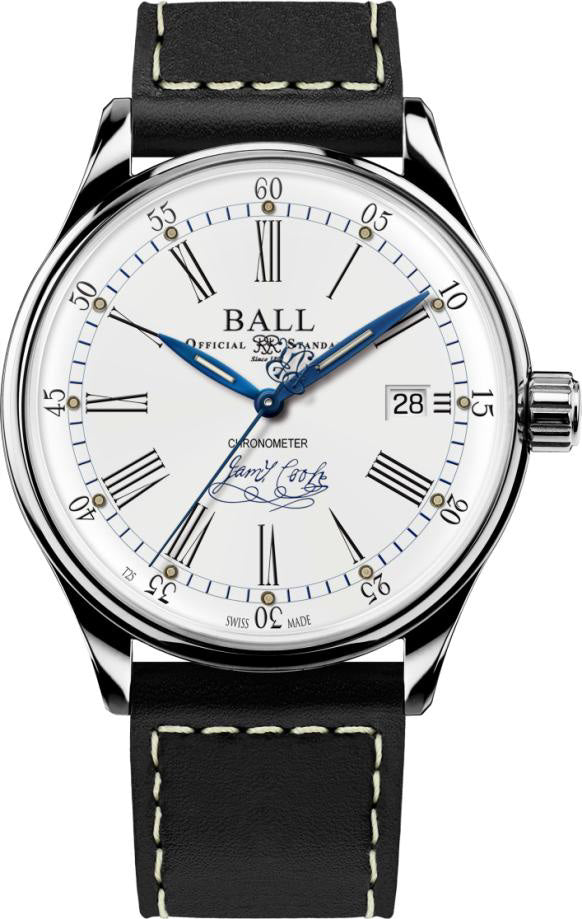 Ball Watch Company Trainmaster Endeavour Chronometer Leather Limited Edition
