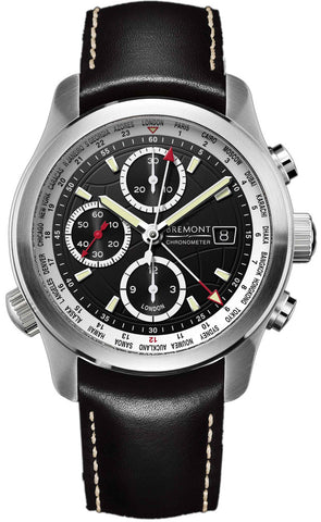 Bremont Watch World Timer ALT1-WT Black