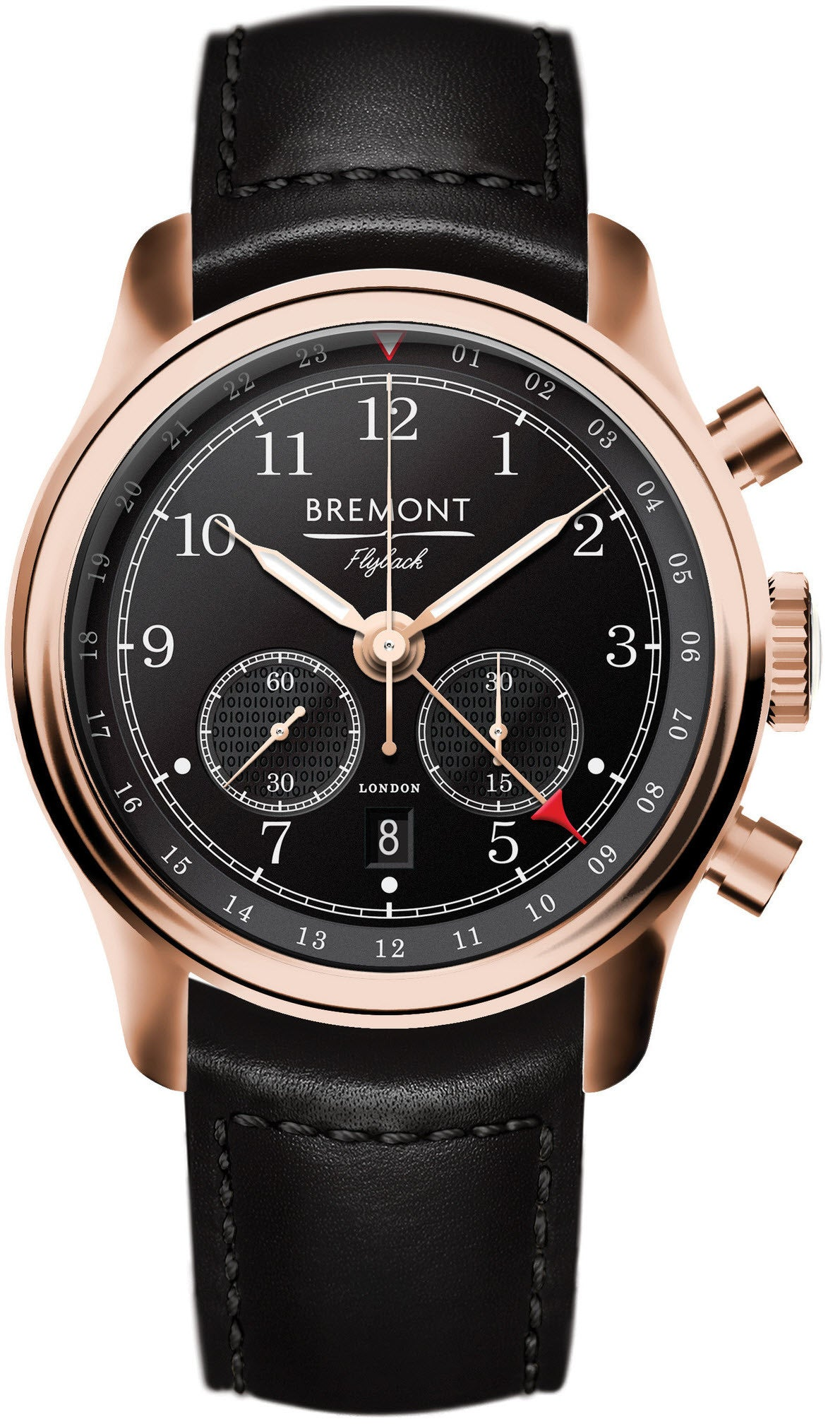 Bremont Watch Codebreaker Flyback GMT 18ct Gold Limited Edition D