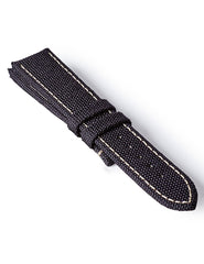 Bremont Kevlar Strap Black-White 22mm Regular