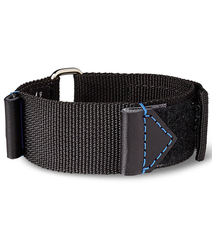 Bremont Nato Strap Black-Blue 22mm Regular