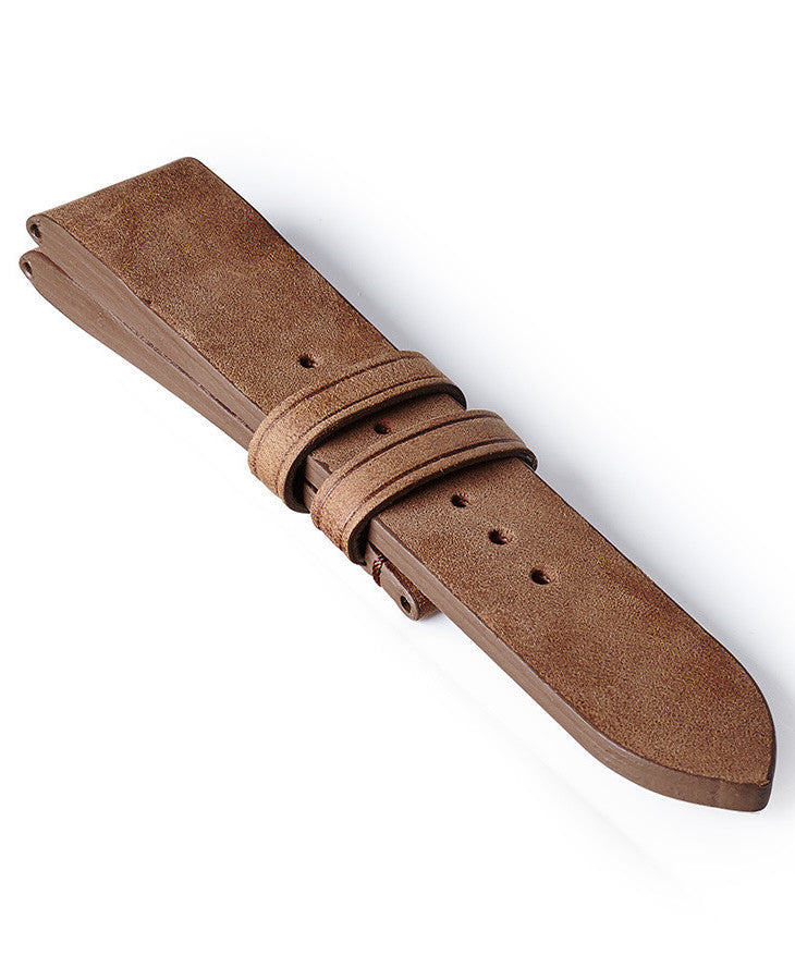 Bremont Leather Strap Vintage Light Brown 22mm Regular