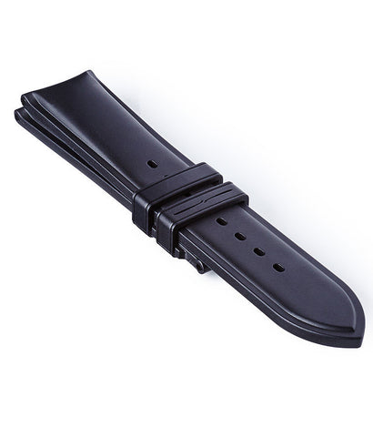 Bremont Rubber Strap Temple Island Black 22mm Regular