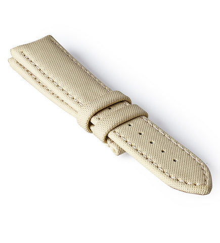 Bremont Rubber Strap Cream 22mm Regular