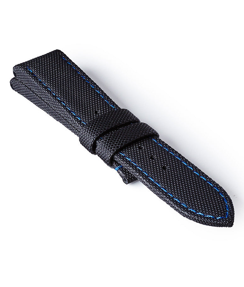 Bremont Seattle Strap Black-Blue 22mm Regular