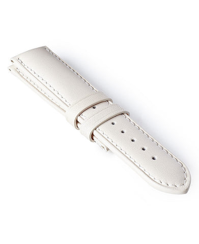 Bremont Leather Strap White-White 22mm Regular