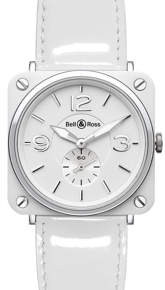 Bell & Ross BRS White Dial Ceramic