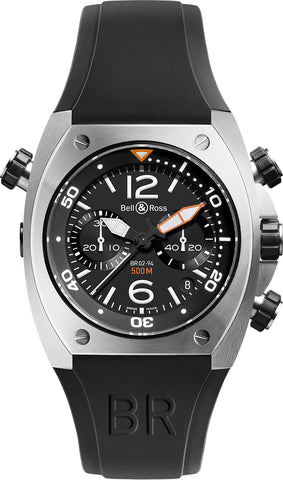 Bell & Ross Watch BR 02 94 Chronograph Steel Case D