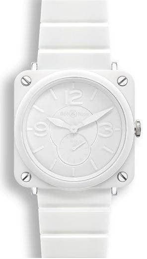 Bell & Ross BRS White Phantom Ceramic Bracelet