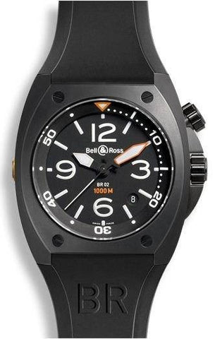 Bell & Ross BR 02 Automatic Black Carbon Case