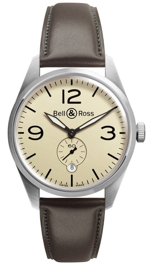 Bell & Ross Watch Vintage BR 123 Original Beige