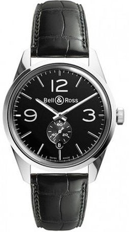 Bell & Ross Watch Vintage BR 123 Officer Black D