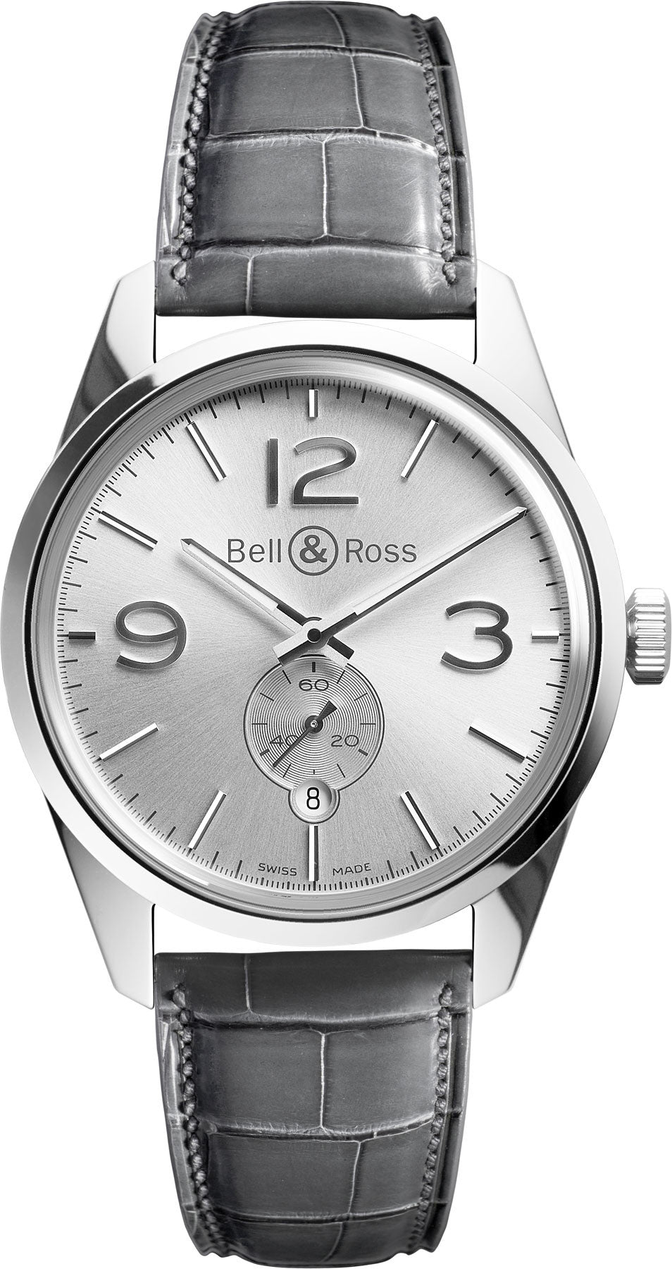 Bell & Ross Watch Vintage BR 123 Officer White