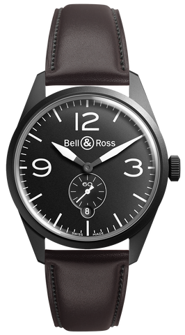 Bell & Ross Watch Vintage BR 123 Carbon Black
