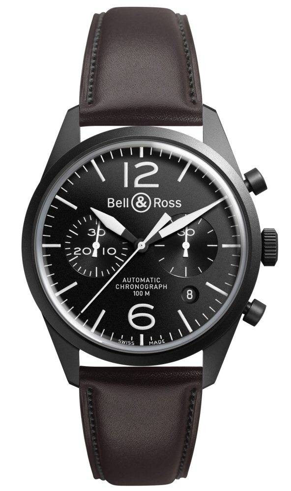 Bell & Ross Watch Vintage BR 126 Carbon Black