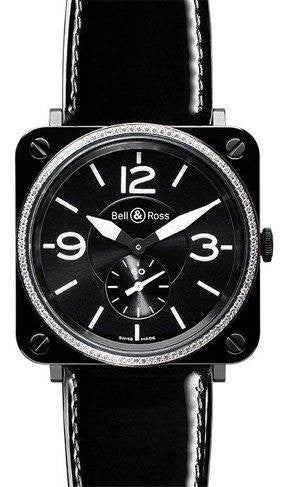 Bell & Ross BRS Black Ceramic Diamond