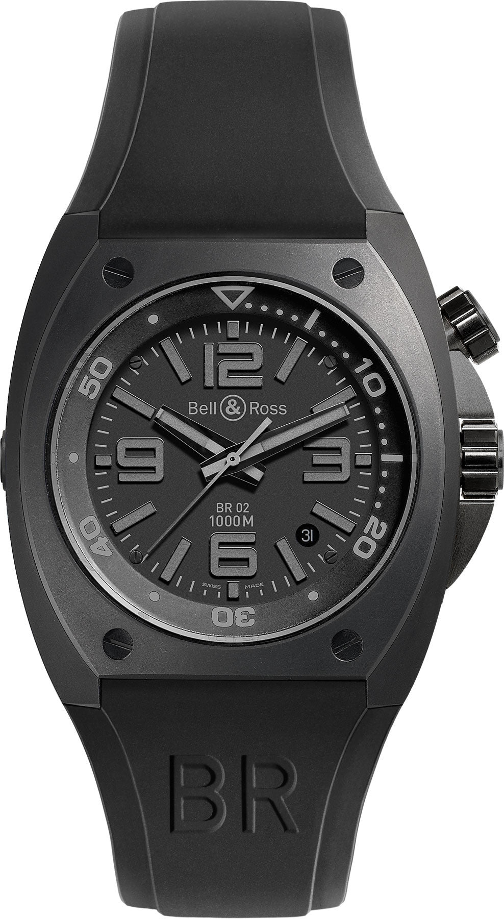 Bell & Ross Watch BR 02 92 Phantom D