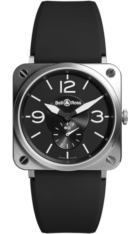Bell & Ross Watch BRS Steel D