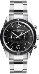 Bell & Ross Watch Vintage BR 126 Black Bezel