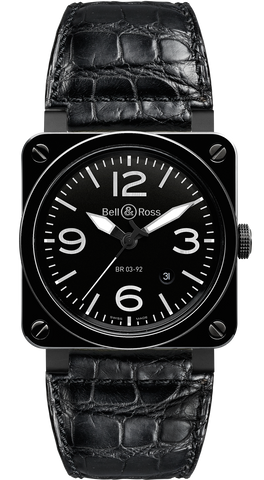 Bell & Ross Watch BR 03 92 Ceramic Black