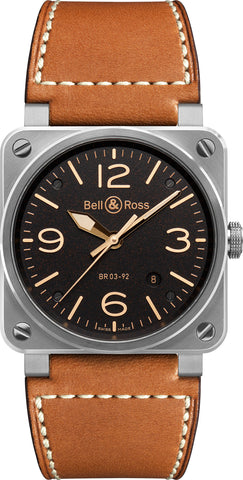 Bell & Ross Watch BR 03 92 Golden Heritage