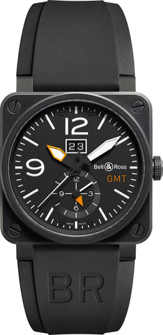 Bell & Ross Watch BR 03 51 GMT Carbon
