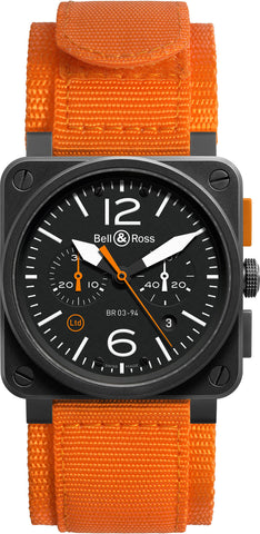 Bell & Ross Watch BR 03 94 Carbon Orange Limited Edition