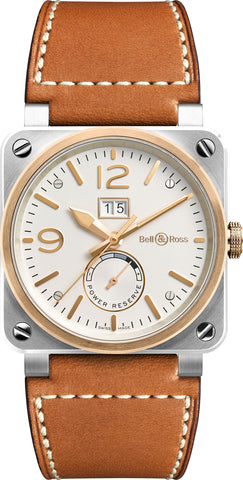 Bell & Ross Watch BR 03 90 Steel & Rose Gold