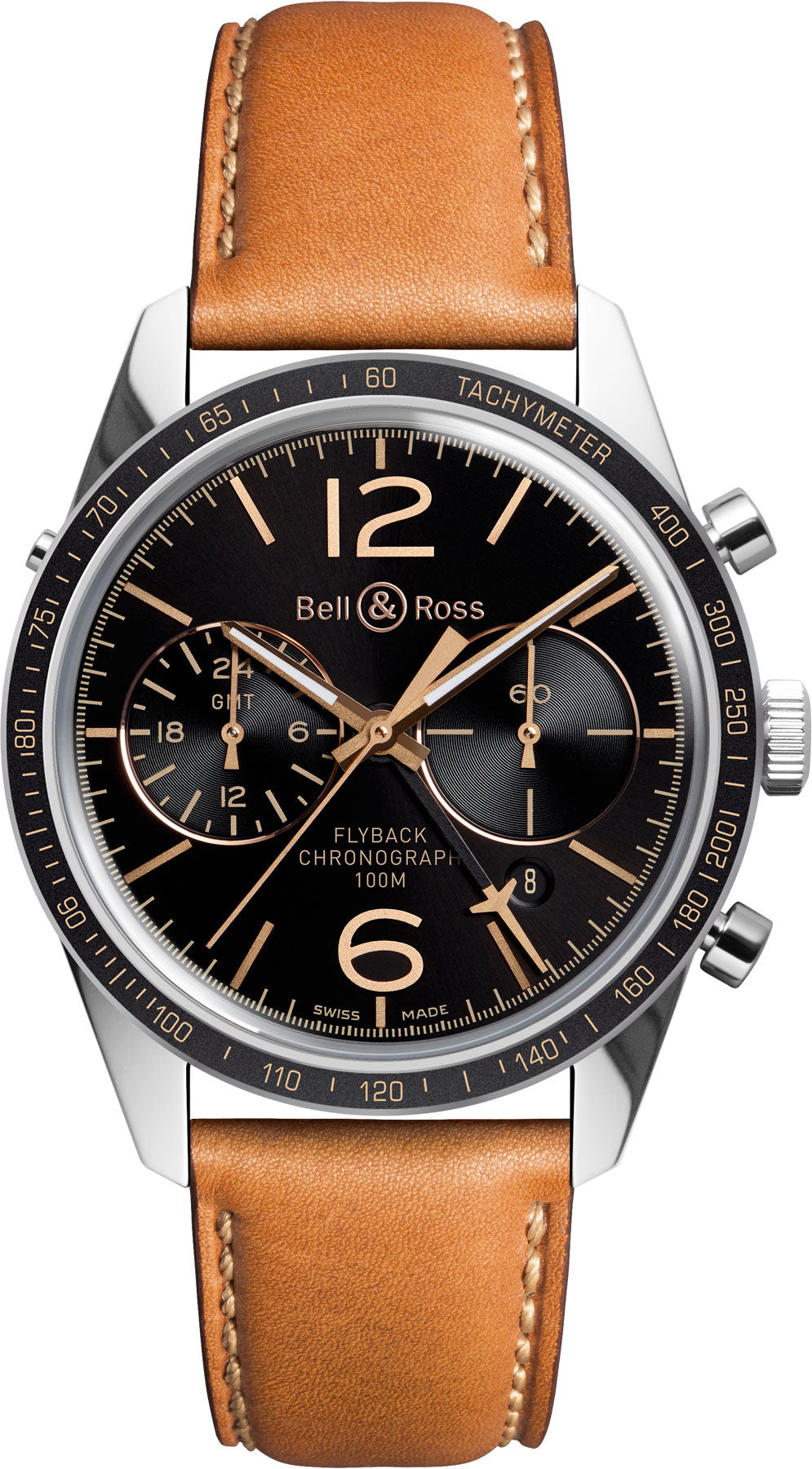 Bell & Ross Watch Vintage BR 126 Sport Heritage GMT & Flyback