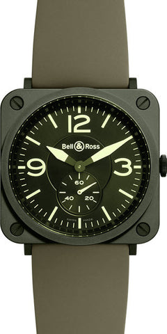 Bell & Ross Watch BRS Military Ceramic