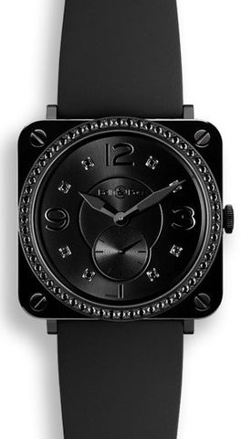 Bell & Ross Watch BRS Ceramic Phantom Diamonds
