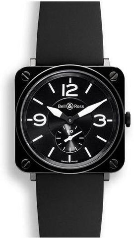 Bell & Ross BRS Black Dial Ceramic
