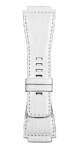 Bell & Ross Strap BR 01/03 Alligator White Without Buckle