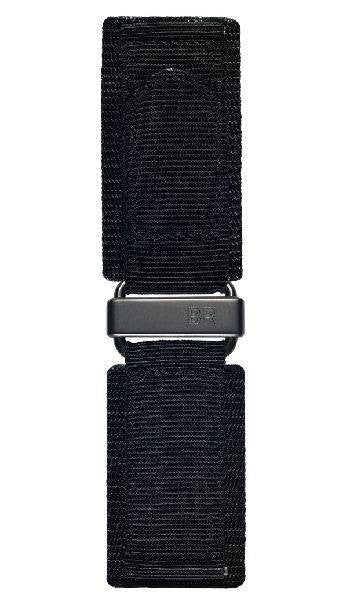 Bell & Ross Strap BR 01/03 Canvas Carbon Extra Large