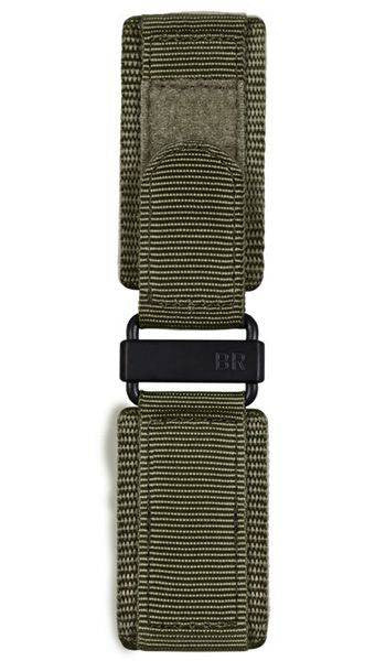 Bell & Ross Strap BR 01/03 Canvas Green Canvas Military Extra Small