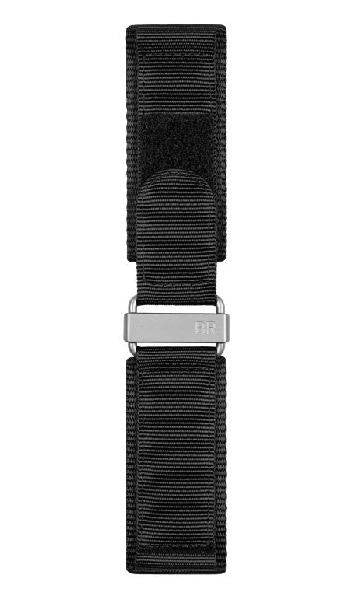 Bell & Ross Strap BR 02 Canvas Steel Extra Small