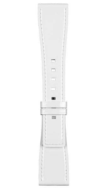 Bell & Ross Strap BRS Patent Leather White