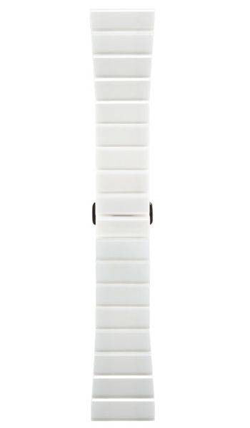 Bell & Ross Strap BR S Polished White Ceramic Bracelet