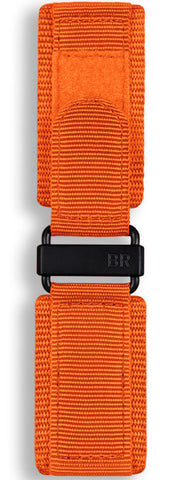 Bell & Ross Strap BR 01/03 Canvas Orange Canvas XL