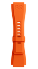Bell & Ross Strap BR 01/03 BR-X1 Orange Rubber Small B-P-031 SMALL