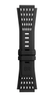 Bell & Ross Strap BR 01/03 BR-X1 Perforated Black Rubber Large B-P-035 LARGE